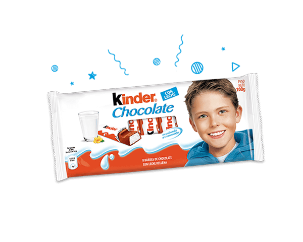 El inconfundible sabor de Kinder Chocolate