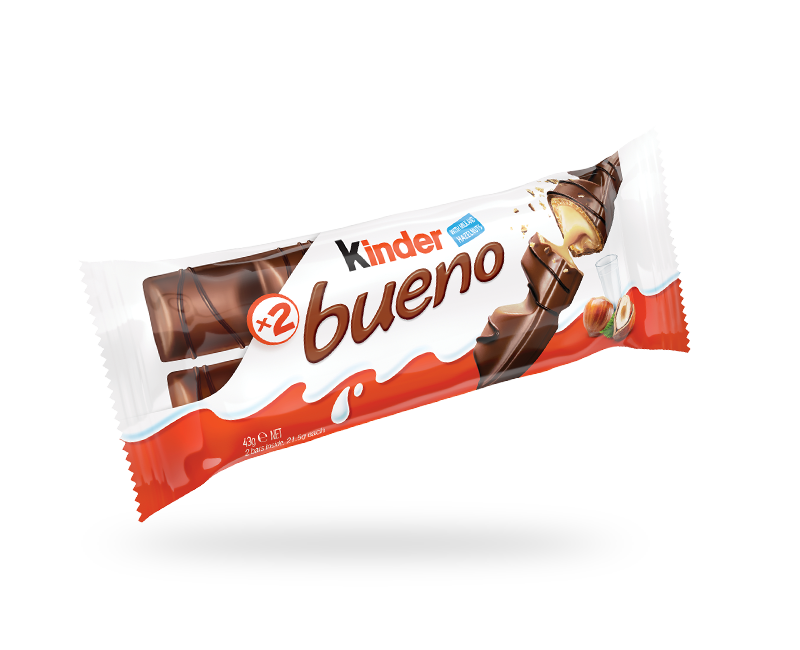 snack chocolate bar kinder bueno pack