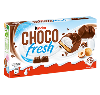 snack chocolate bar kinder choco fresh t5