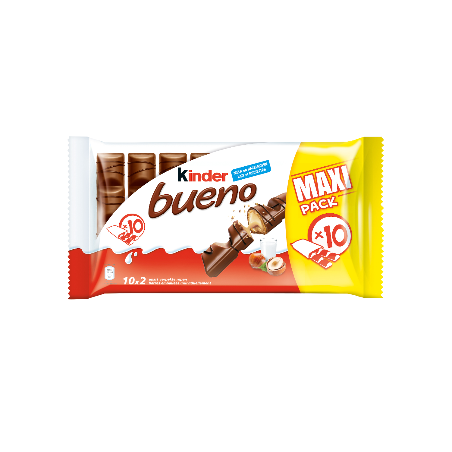 snack chocolate bar kinder bueno t10 BE-Nl