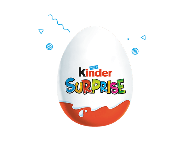 La magie de Kinder Surprise