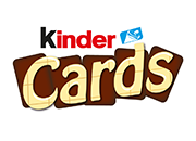 kinder cards logo menu