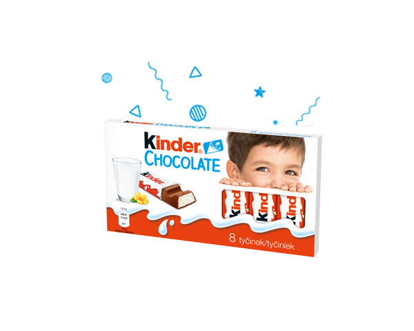 Kinder chocolate výrobek