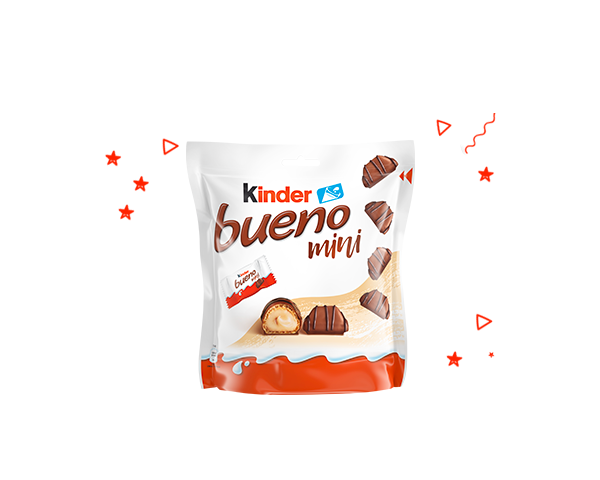 Kinder Bueno mini balení