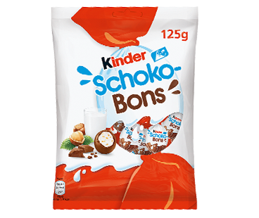 chocolate eggs kinder schoko-bons 125g