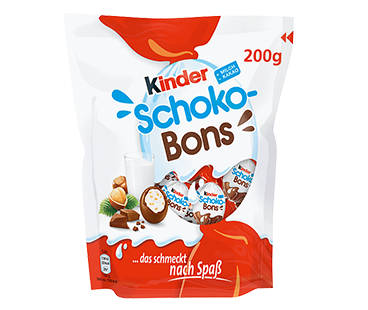 chocolate eggs kinder schoko-bons 200g