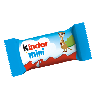 milk chocolate bar kinder schokolade mini motiv erdmaennchen