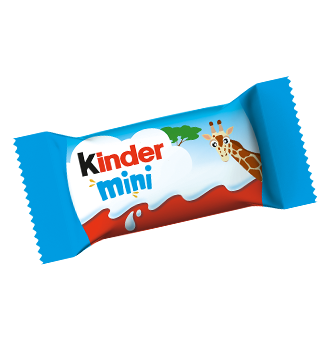 milk chocolate bar kinder schokolade mini motiv giraffe