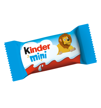 milk chocolate bar kinder schokolade mini motiv loewe