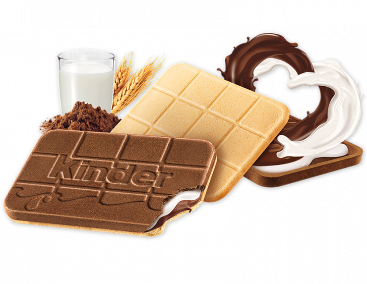 snack chocolate bar kinder cards