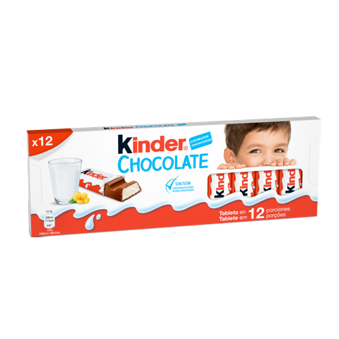 milk chocolate bar kinder chocolate T12