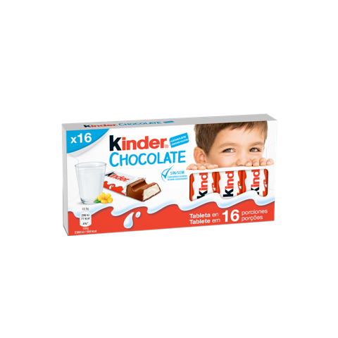 milk chocolate bar kinder chocolate T16