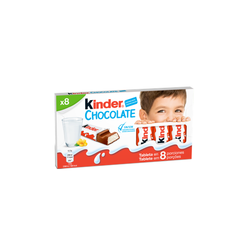 milk chocolate bar kinder chocolate T8