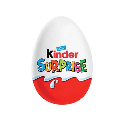 chocolate egg kinder surprise unisexe