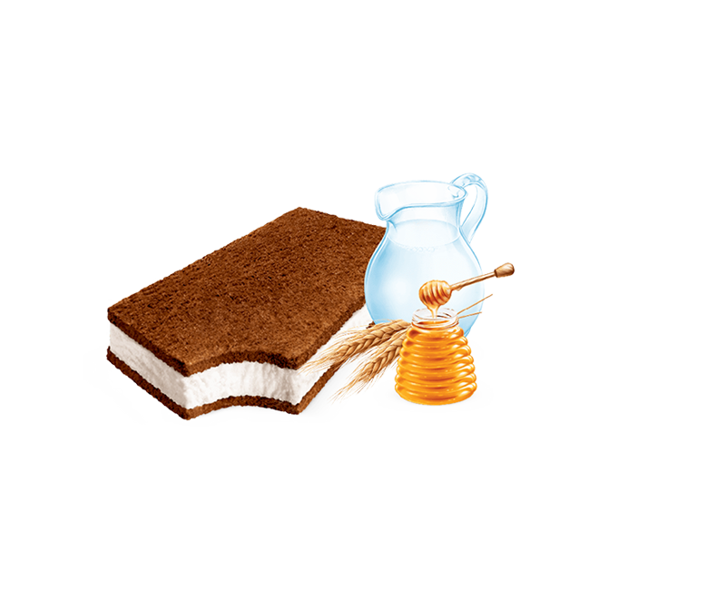 ice sandwich kinder milk slice