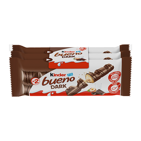 snack chocolate bar kinder bueno dark t3