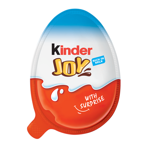 chocolate egg kinder joy boy pack