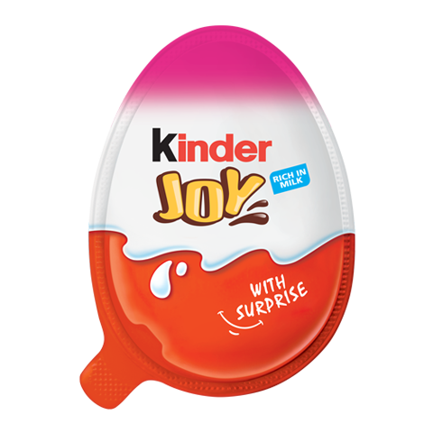chocolate egg kinder joy girl pack