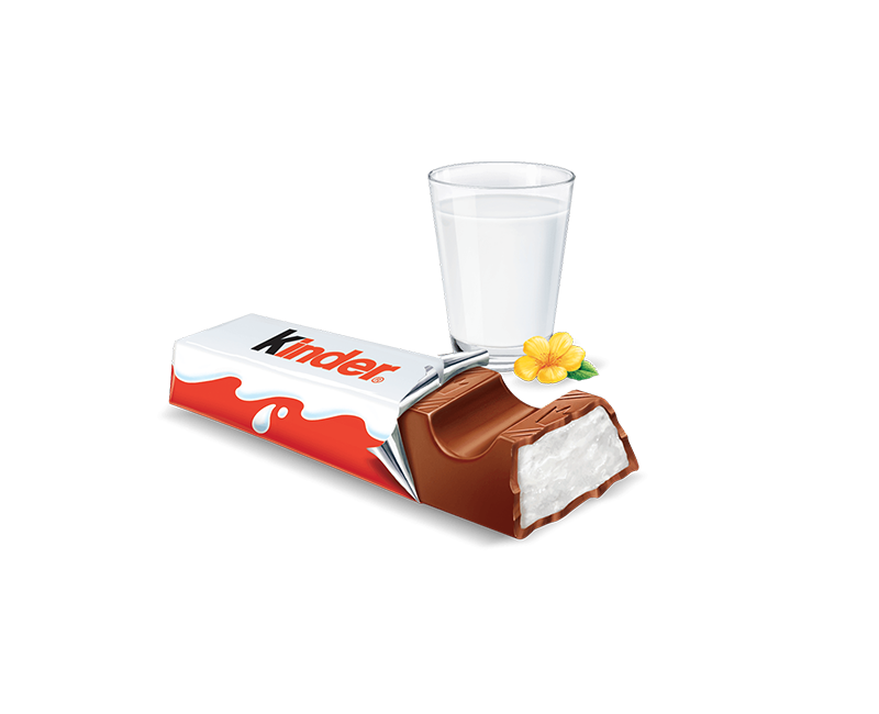 milk chocolate bar kinder chocolate KZ