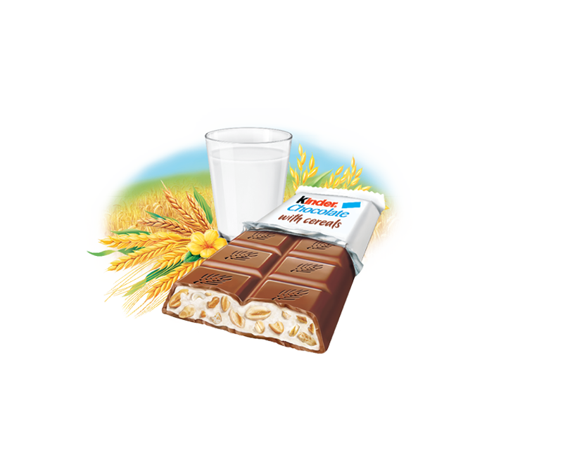 milk chocolate bar kinder country ar