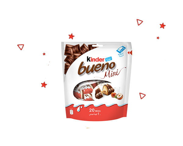 Kinder Bueno Mini Big Pleasure in bite sizes