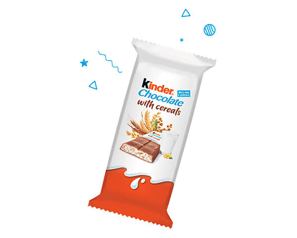Kinder Chocolate With Cereals: een unieke mix