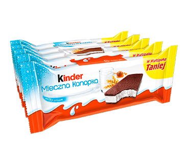 kinder ice cream sandwich mleczna kanapka 140g