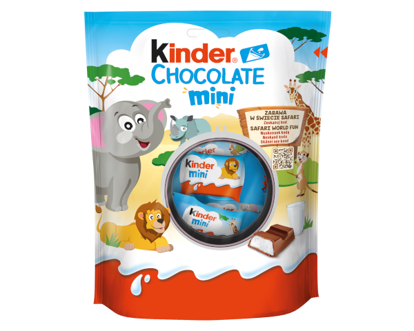 milk chocolate bar kinder country mini pack