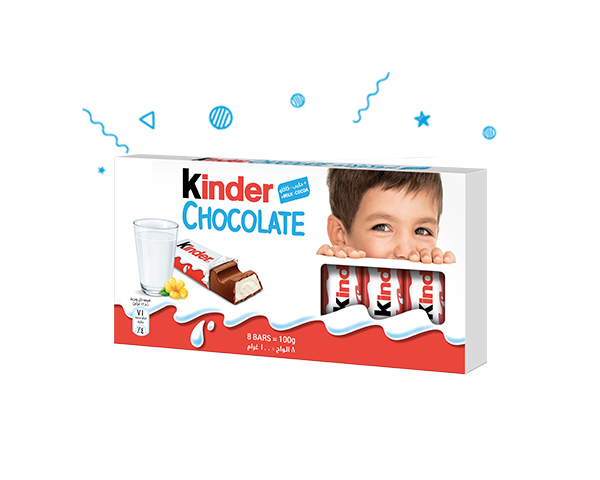The unique taste of Kinder Chocolate