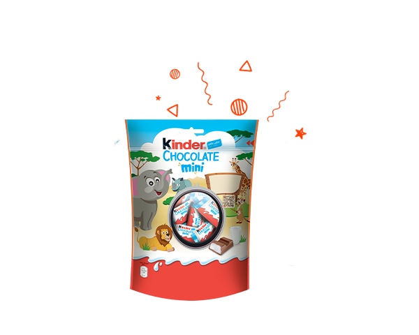 The Unique taste of Kinder chocolate Mini