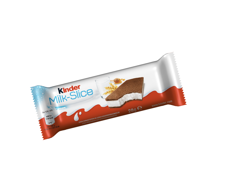 Ice Sandwich Kinder Milk Slice Pack
