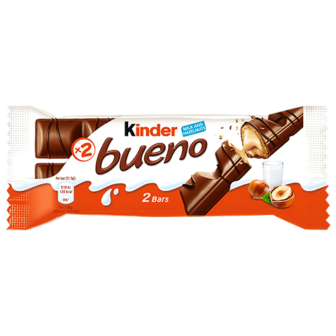 snack chocolate bar kinder bueno single