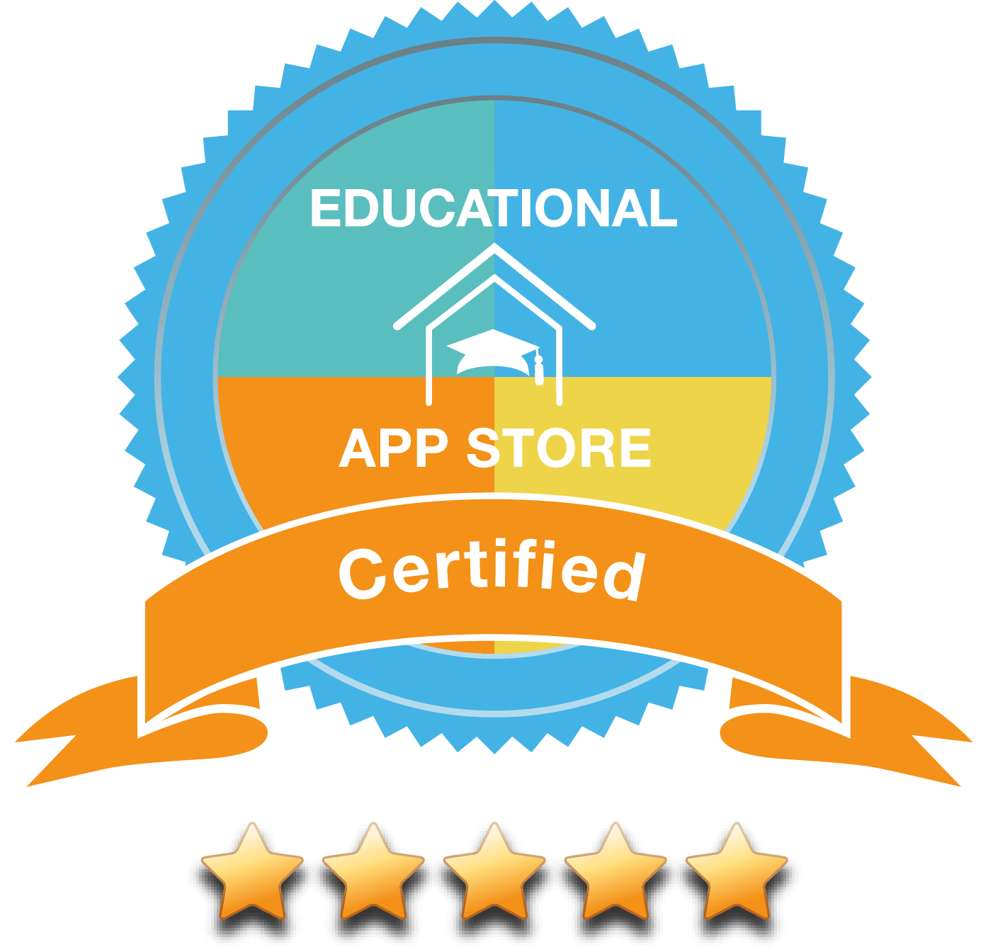 Certified by the Educational App Store