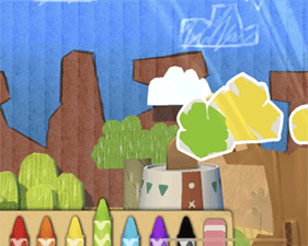 Applaydu screenshot - papercraft world