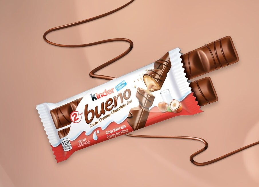 KINDER BUENO IS NOW AVAILABLE IN THE USA!