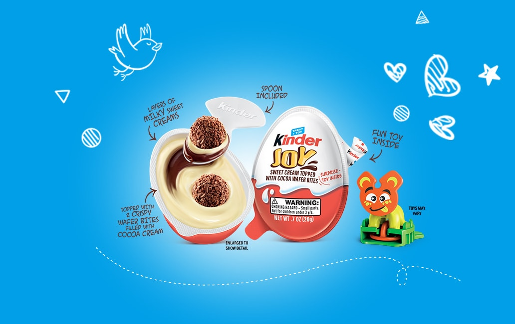 Kinder Joy - Main Slider 2020